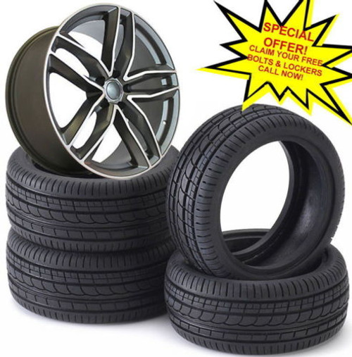 """19""""rs6 c gm Alloy Wheels Audi A5/A8/a4/a6/with 2353519 tyres"""