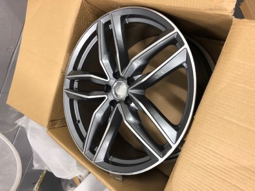 """17""""rs6 c gm alloy wheels audi/vw/tt/t4/a4/a3/a6/skoda/seat/golf with tyres"""
