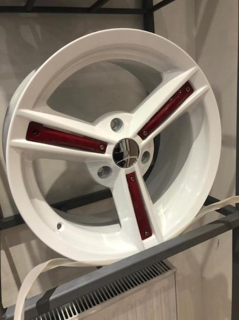 16'' 3 Spoke Alloy Wheels fits 3 Stud Smart Wider Rear Wheels