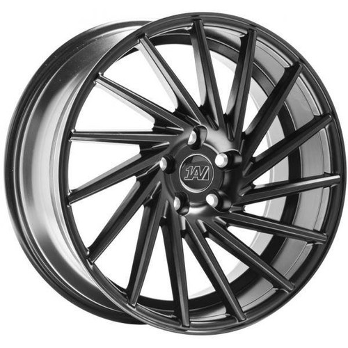 1AV ZX1 Alloy Wheels Satin Black