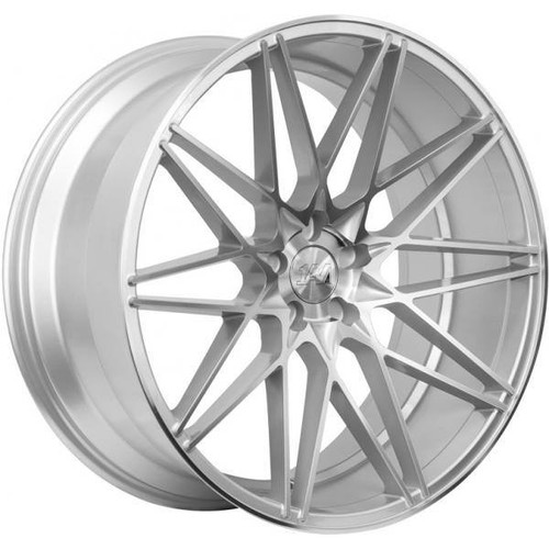 1AV ZX4 Alloy Wheels Silver/Polished
