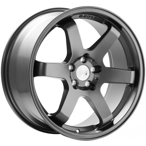 1AV ZX6 Alloy Wheels GUNMETAL