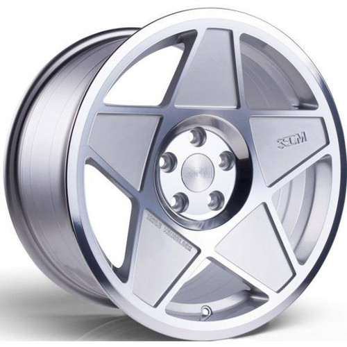 3SDM 0.05 Alloy Wheels Silver / Polished Face