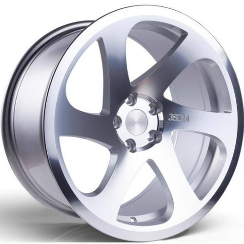 3SDM 0.06 Alloy Wheels Silver / Polished Face