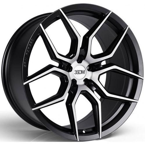 3SDM 0.50 SF Alloy Wheels Matt Black / Brushed Face
