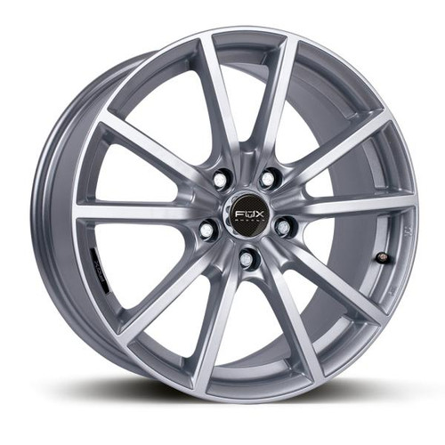 FOX FX1 Alloy Wheels Silver