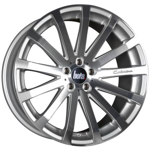 Bola XTR Alloy Wheels Silver Polished Face