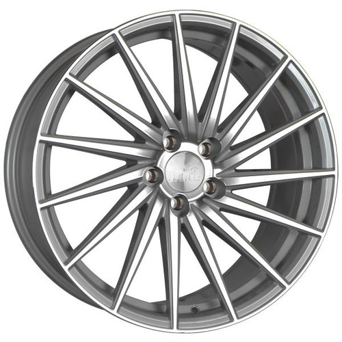 Bola ZFR Alloy Wheels Silver Polished Face