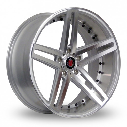 Axe EX20 Silver Polished Alloy Wheels