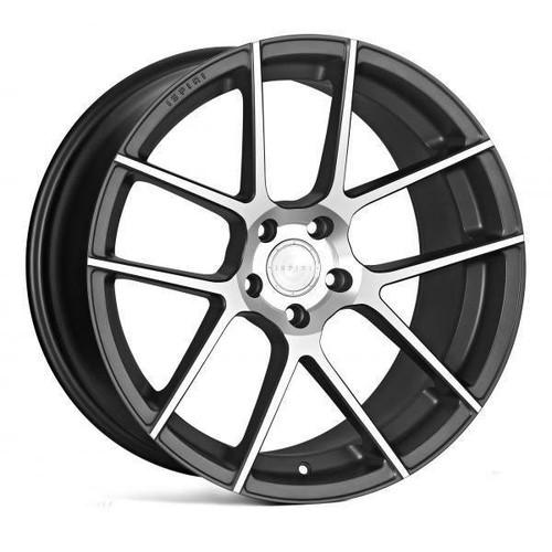 Ispiri ISR6 Alloy Wheels Satin Graphite Machined