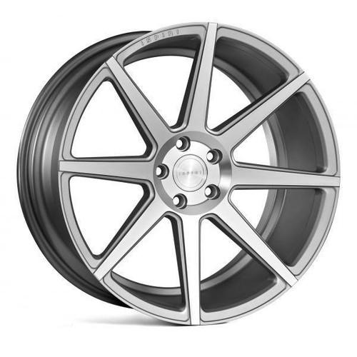 Back to all Ispiri Ispiri ISR8 Alloy Wheels Satin Silver Machined