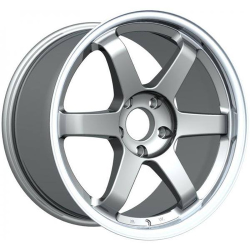 Inovit ST16 Alloy Wheels Gunmetal Machined Lip