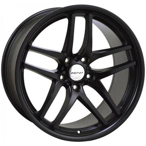 Inovit Speedy Alloy Wheels Black Satin