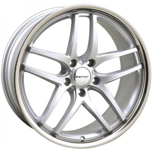 Inovit Speedy Alloy Wheels Silver Inox Lip