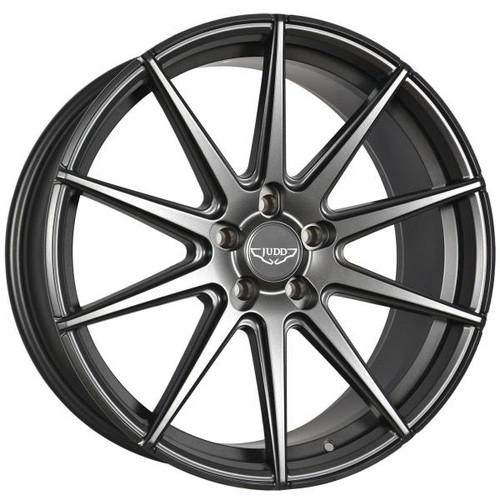 Judd T311 Alloy Wheels Matt Gunmetal Black Rivets