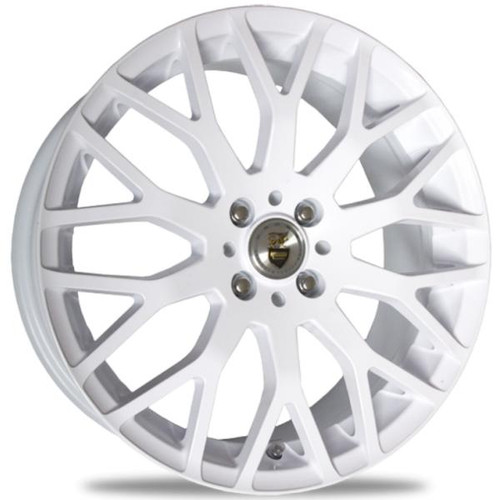 Cades Vienna Alloy Wheels White