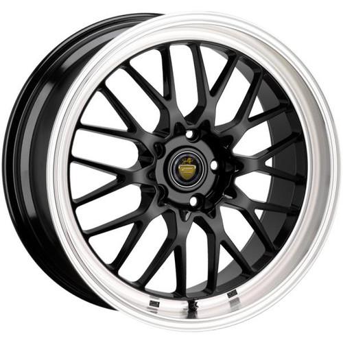Cades Tyrus Alloy Wheels Black