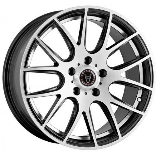 Back to all Wolfrace Eurosport Wolfrace Eurosport Munich 2 Alloy Wheels Gloss Black / Polished