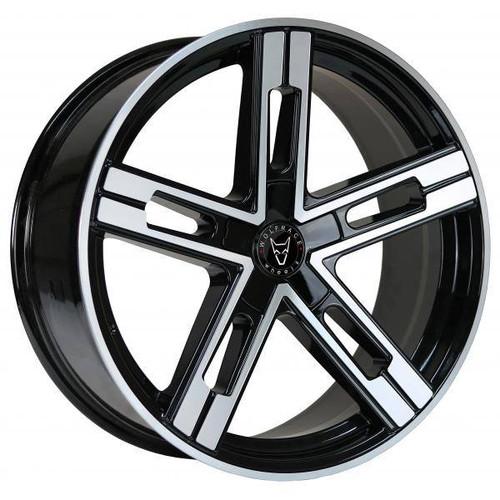 Wolfrace Eurosport Stuttgart Ultra Concave Alloy Wheels Gloss Black / Polished