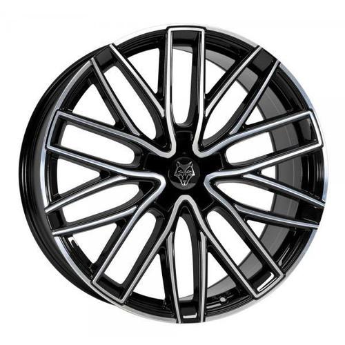 Wolf Design GTP Alloy Wheels Gloss Black / Polished