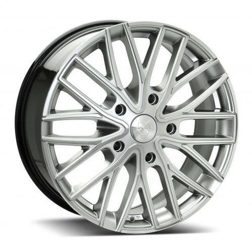 Wolf Design GTR Alloy Wheels Hyper Silver / Polished