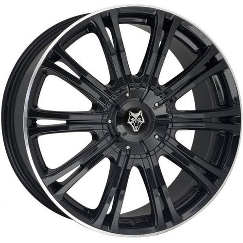 Wolf Design Vermont Sport Alloy Wheels Gloss Black / Polished