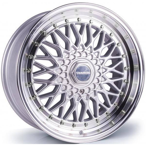 Dare DR RS Alloy Wheels Silver / Polished Lip