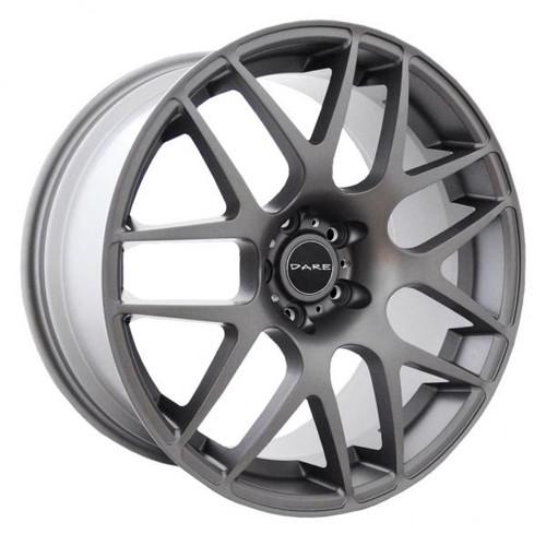 Dare DR X2 Alloy Wheels Matt Gunmetal