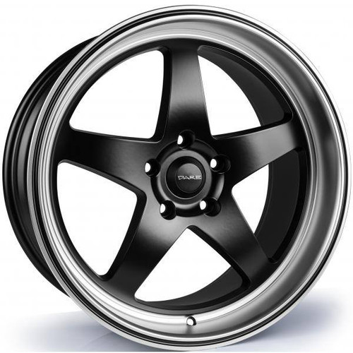 Dare F7 Alloy Wheels Satin Black / Satin Polished Rim