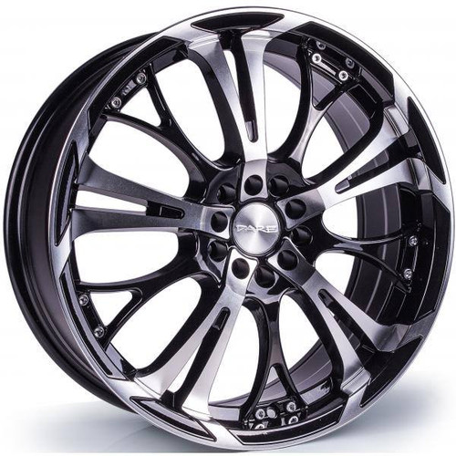 Dare Ghost Alloy Wheels Black / Polished Face