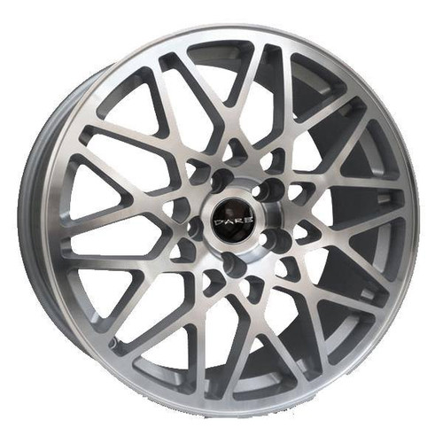 Dare LG2 Alloy Wheels Silver / Polished Face