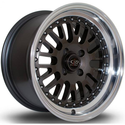 Rota Flush Alloy Wheels Rlgunmetal