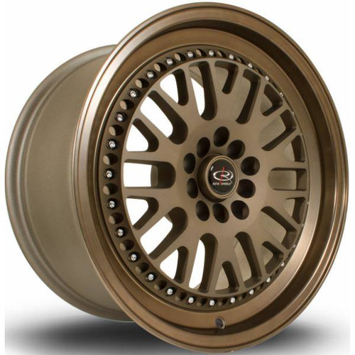 Rota Flush Alloy Wheels Spbronze