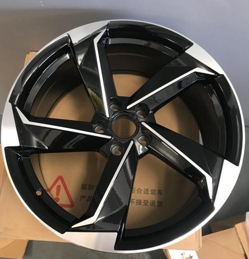 "21""r8 rotor bp alloy wheels for audi a5/a6/s5/ a7/q5/q3/vw passat with tyres"