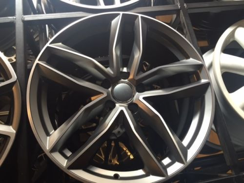 "21""rs6 c gmp alloy wheel for audi q7/vw tourag 5x130/porsche cayenne & tyres"