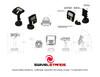 Swivel Stands Credit Card Stand Telescoping Pedestal VeriFone MX915