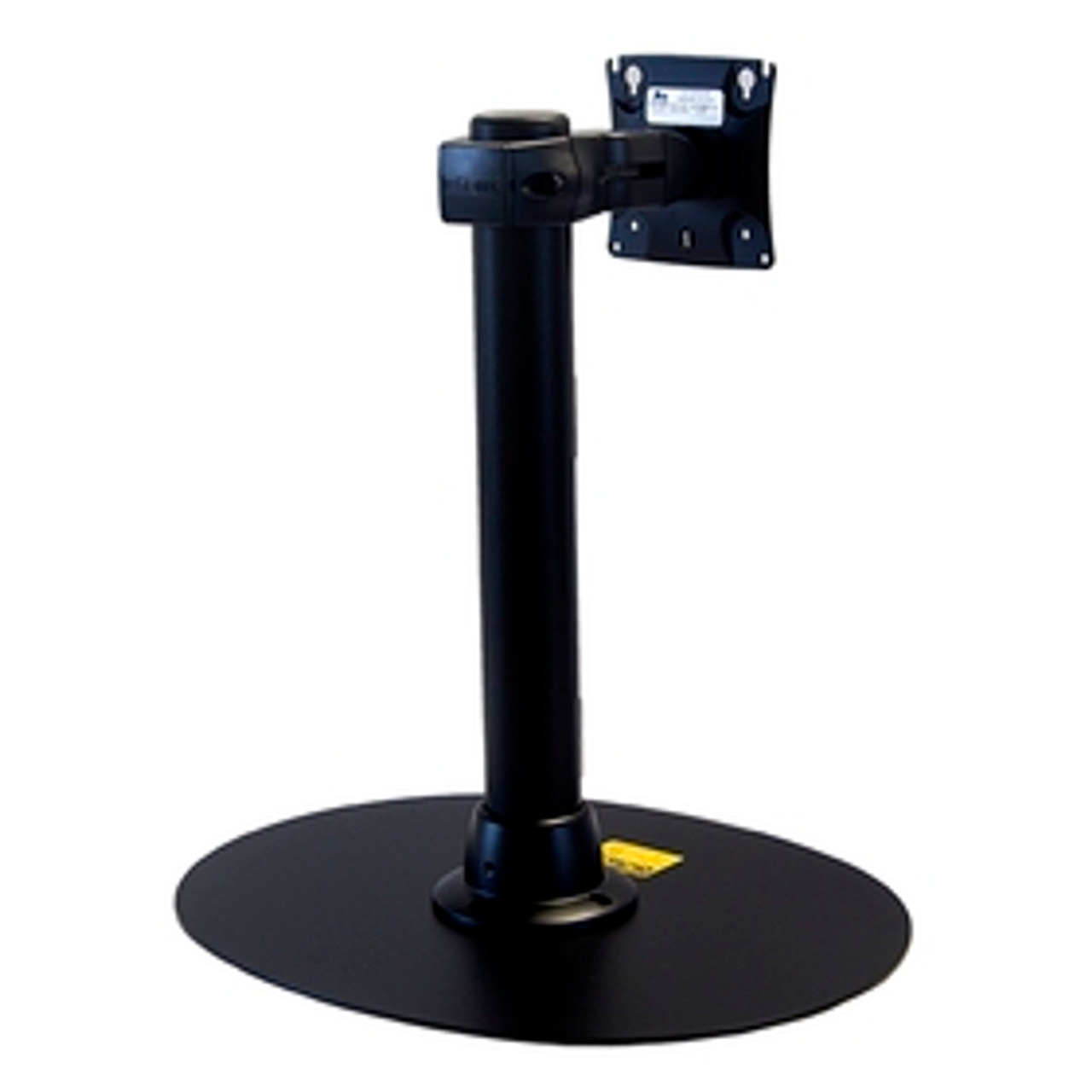 Preconfigured Monitor Mount Double Pivot With Desk Clamp 16 inch Pole