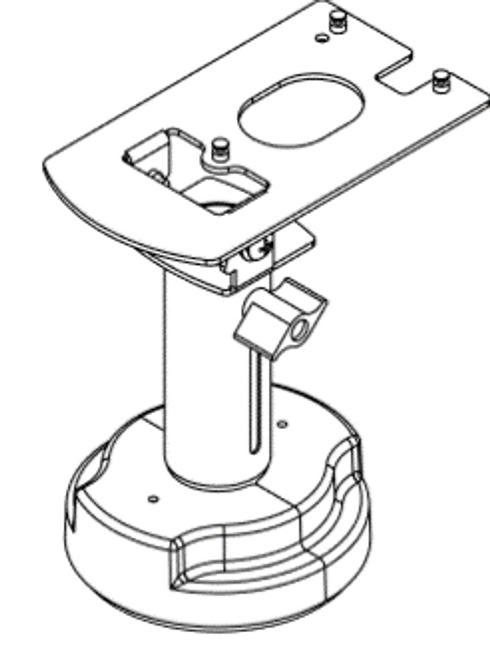 Swivel Stands Credit Card Stand Telescoping Pedestal Hypercom/Equinox L5300