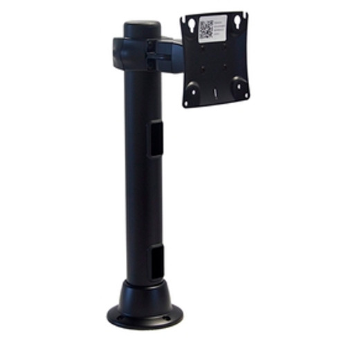 Preconfigured Monitor Mount Double Pivot Grommet 16 inch Pole