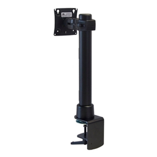 Preconfigured Monitor Mount With Desk Clamp 16 inch Pole