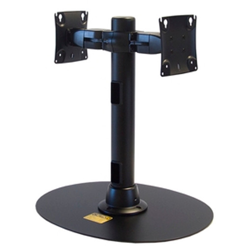 Freestanding Back To Back Monitor Mount 16 inch Pole