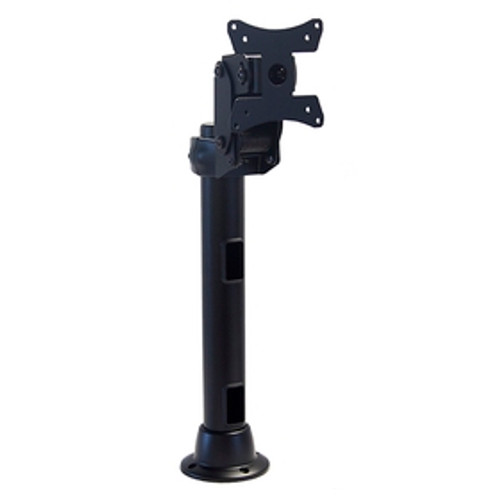 Articulating Arm Monitor Mount With 16 inch Pole