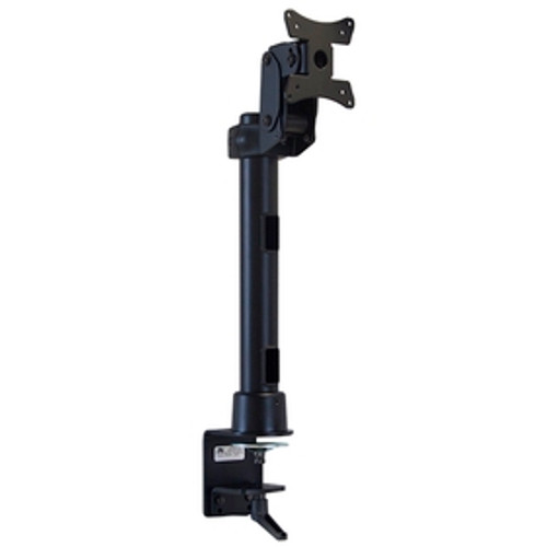Monitor Mount With Desk Clamp 16 inch Pole