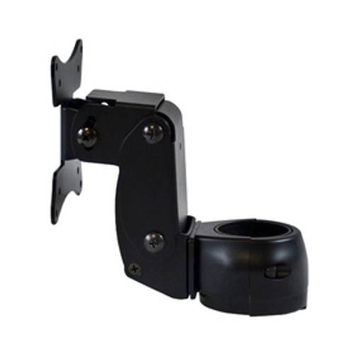 Articulating Arm Single Pivot Flat Panel Monitor Mount Rotating Clamp