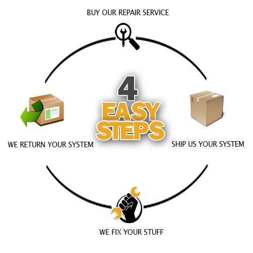 4 Easy Repair Steps from Gamers Repair