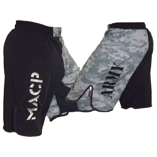 MACP Black & ACU Fight Shorts