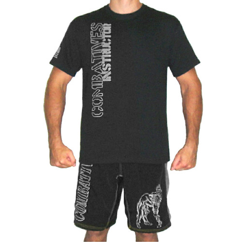 Black and Silver Combatives Instructor Shirt