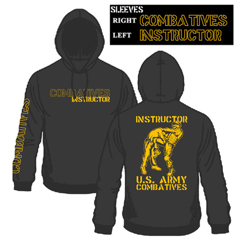 MACP Black and Gold Instructor Hoodie
