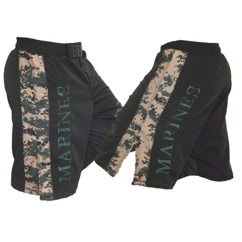 USMC MARPAT Stripe Fight Shorts