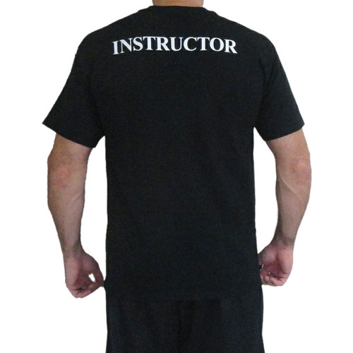 AFCP Instructor T-Shirt White Print on Black